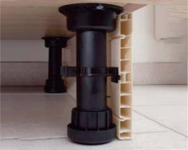 DHP reinforcement base kitchen cabinet legs manufacturer for table-6