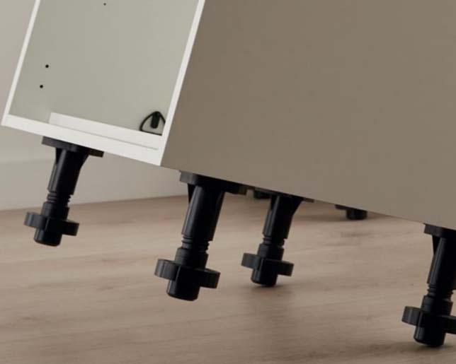 DHP reinforcement base kitchen cabinet legs manufacturer for table-8