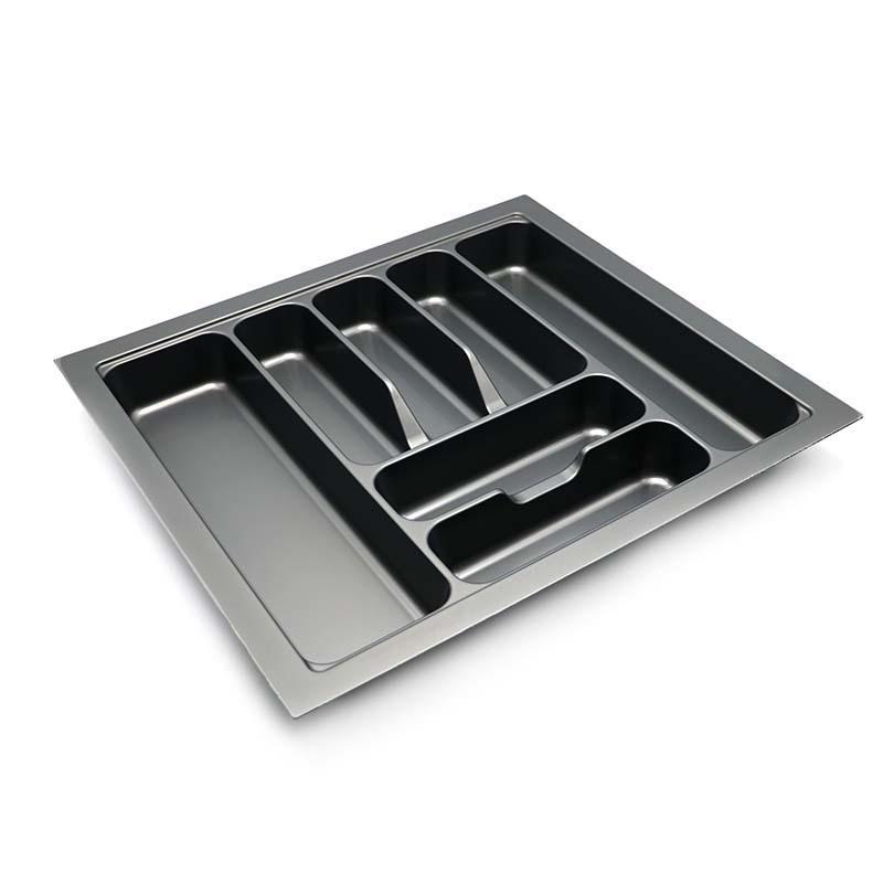 Silverware Organizer Kitchen Drawer ABS Plastic Tableware Rack HJ-C600