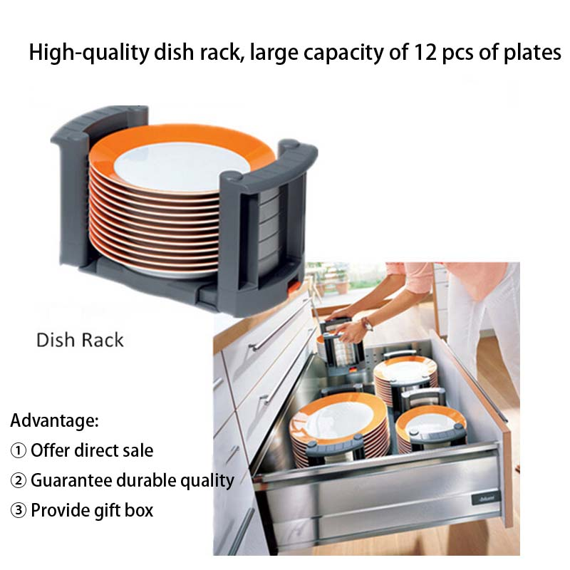DHP abs material kitchen dish rack wholesale for kitchen-5