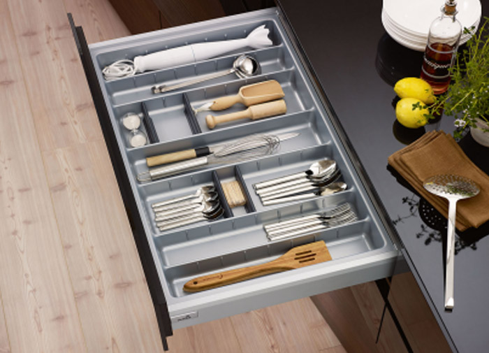 DHP ecofriendly silverware drawer organizer design for housekeeping-10