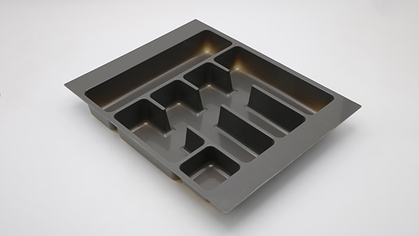 DHP multifunctional plastic cutlery tray customized for cabinets-5