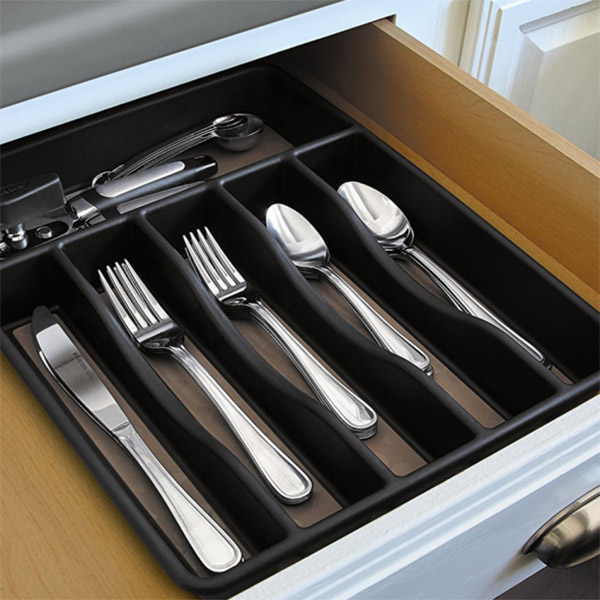 professional cutlery organiser smooth surface customized for cabinets-8