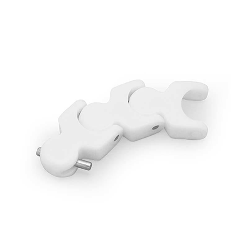 Conveyor chain plastic multi-angle heat-resistant H1702