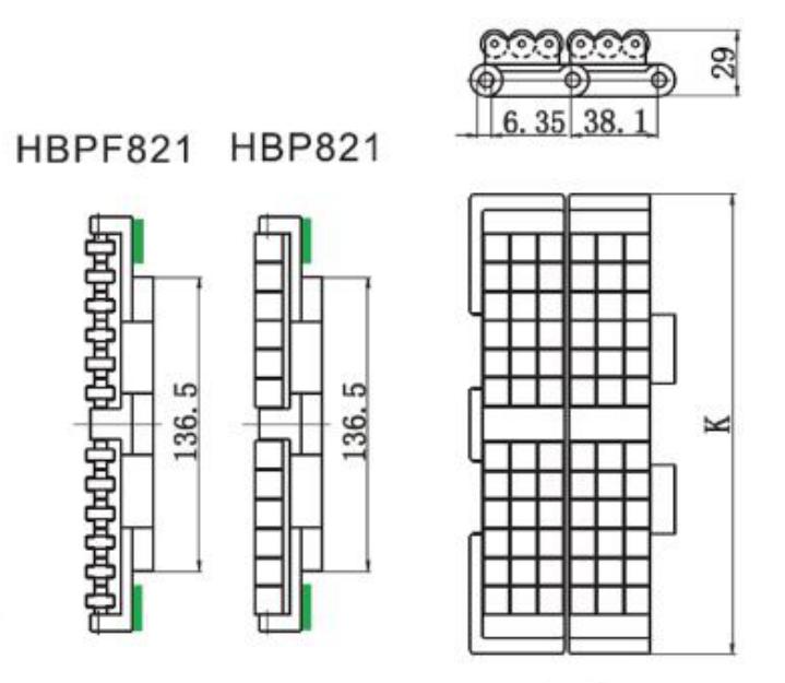modular plastic conveyor chain manufacturers low noise factory for food conveyor-3