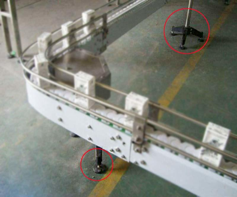 DHP square threaded conveyor components inc customized for conveyor machine