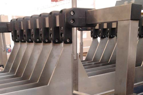 DHP cross conveyor system components design for conveyor machine-5