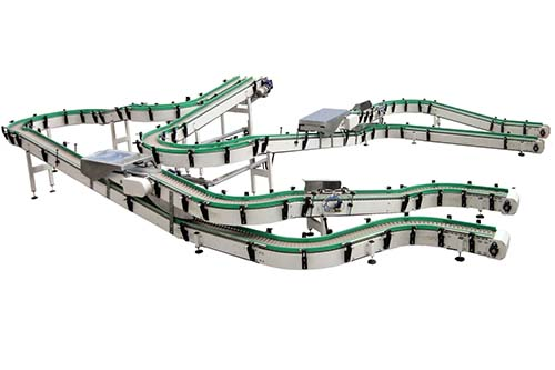 DHP cross conveyor system components design for conveyor machine-6