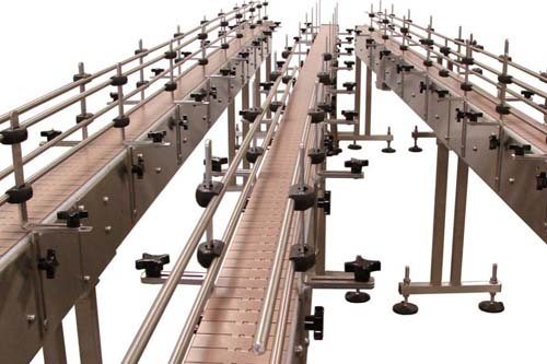 DHP cross conveyor system components design for conveyor machine-7