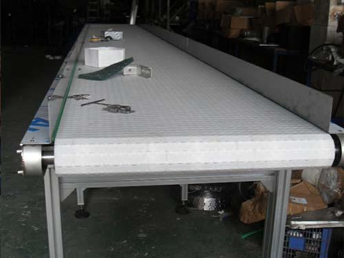 Straight Running Modular Plastic Belt Conveyor Plastic Component
