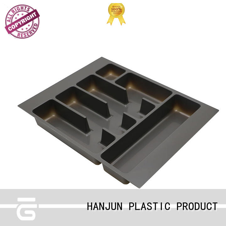 DHP stackable utensil drawer organizer customized for cabinets