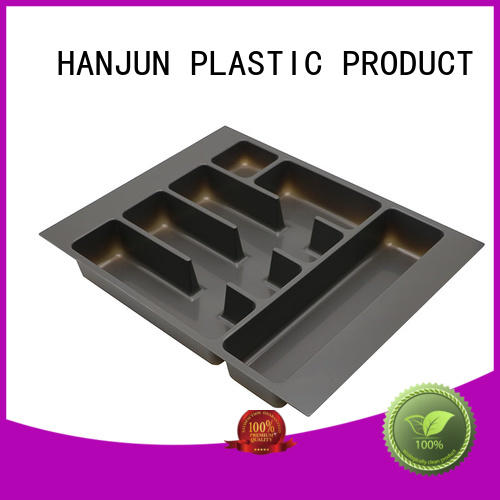 professional pvc cutlery tray design for housekeeping DHP