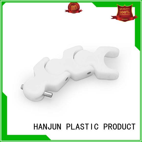 DHP flexible plastic conveyor chain factory for boxes conveyor