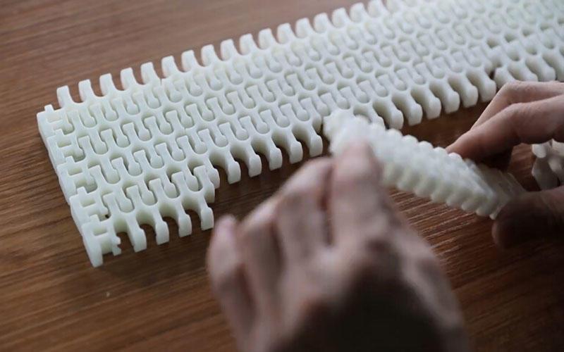 Food Grade Plastic Converyor Belt Features