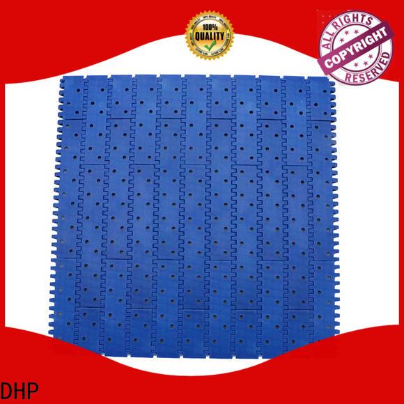 DHP modular industrial conveyor belts customized for conveyor machinery