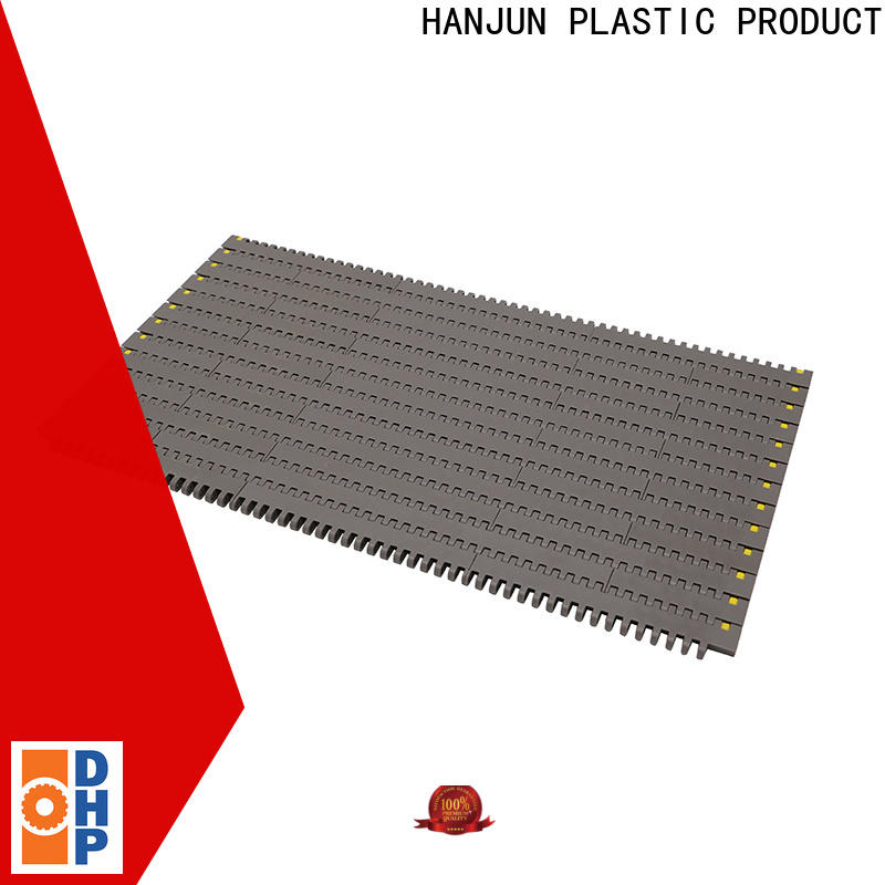 DHP flat top conveyor belt types supplier for conveyor machinery
