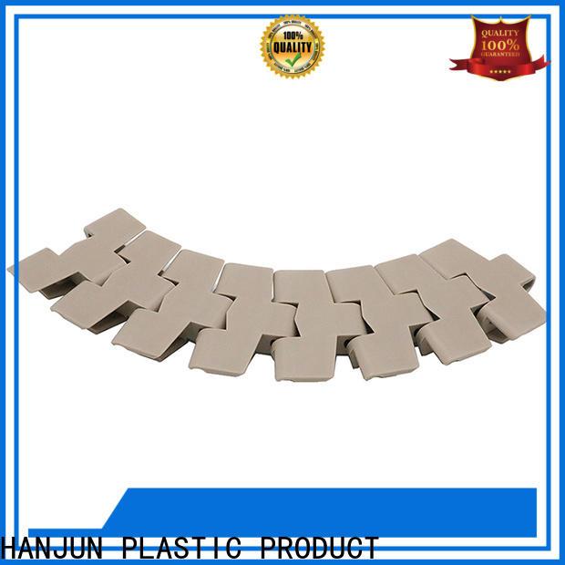 DHP low noise plastic conveyor chain manufacturer for boxes conveyor