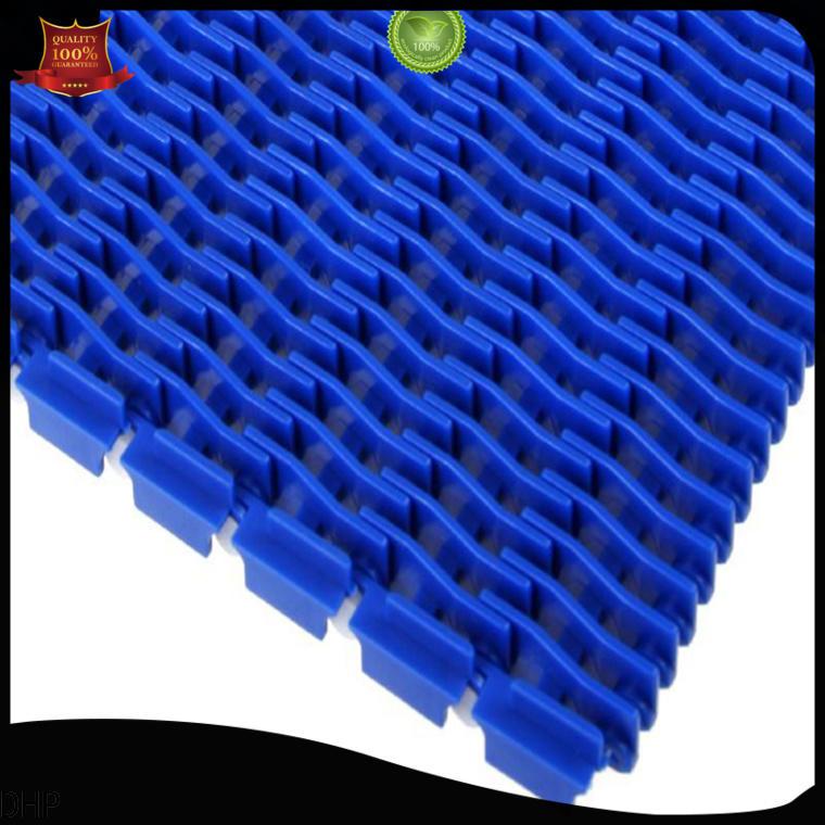 DHP straight running conveyor belt system supplier for PET bottle conveyor