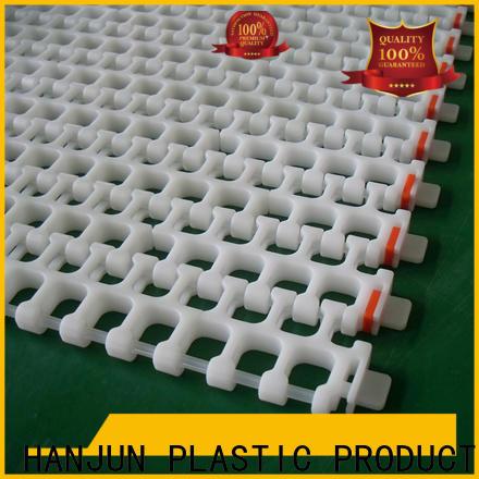 practical conveyor belt types pom material manufacturer for food conveyor