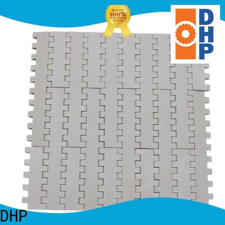 DHP flat top conveyor belt types manufacturer for conveyor machinery