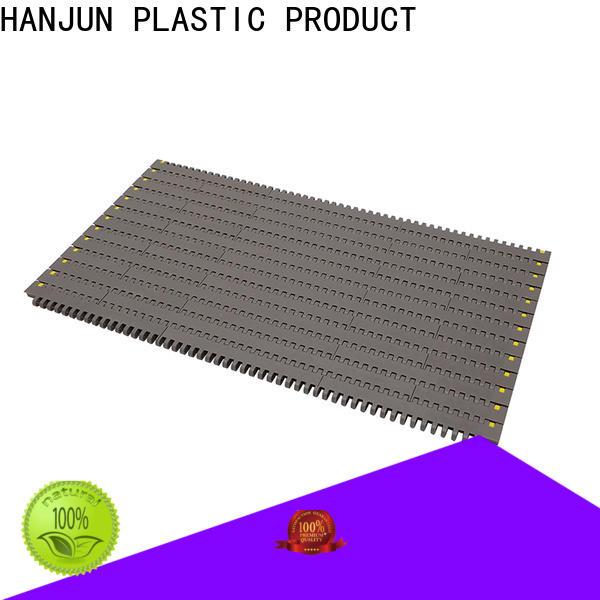 DHP flat top plastic conveyor belt factory for food conveyor