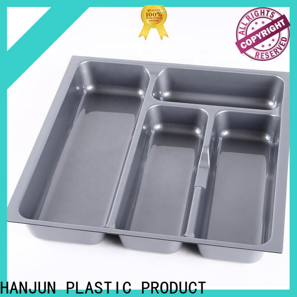 durable plastic cutlery tray drawer type customized for cabinets