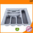 ecofriendly cutlery storage ABS plastic design for cabinets