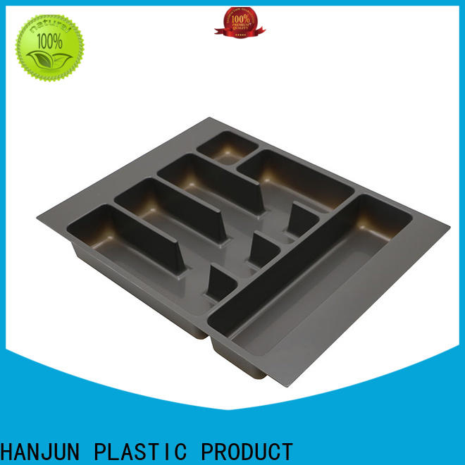 stackable cutlery drawer inserts ABS plastic customized for housekeeping