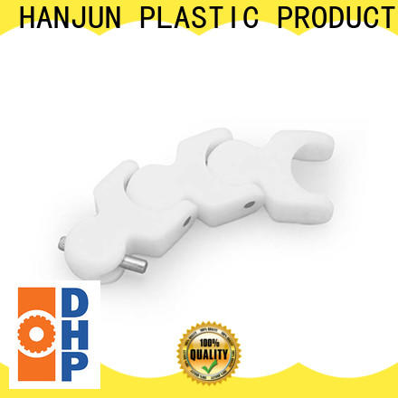 DHP straight running plastic conveyor chain manufacturers series for food conveyor