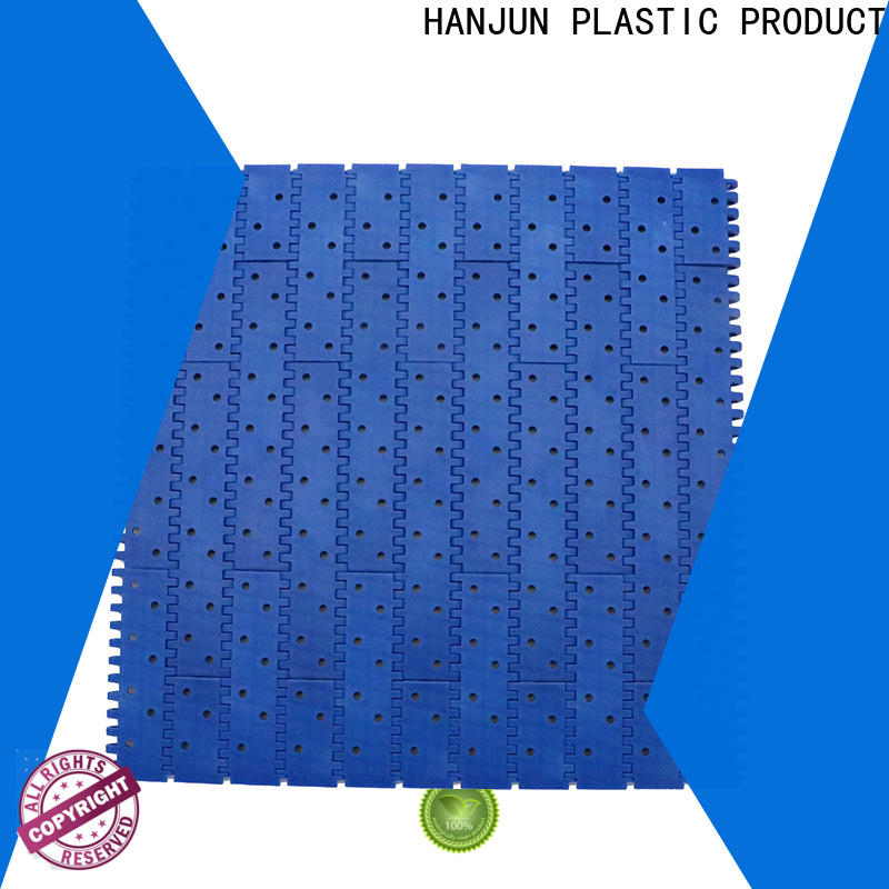 DHP straight running plastic conveyor belt supplier for food conveyor