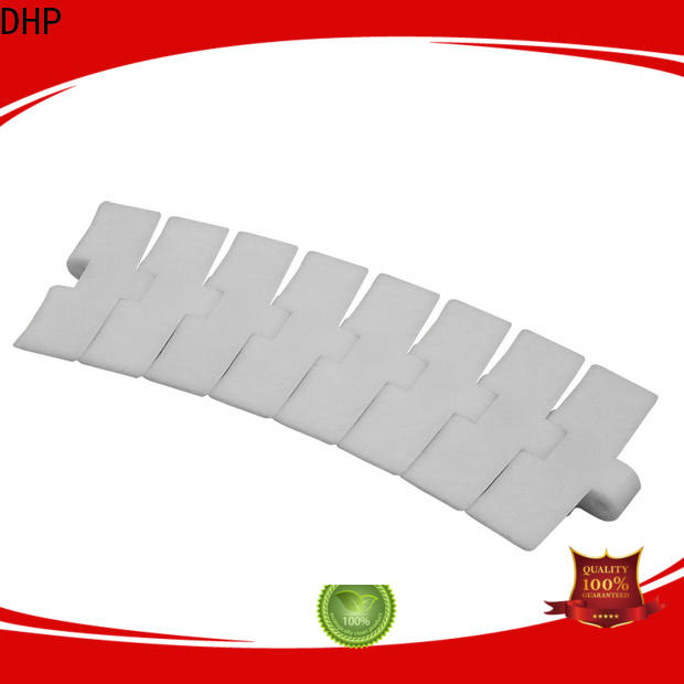 DHP flexible plastic conveyor chain manufacturers wholesale for food conveyor