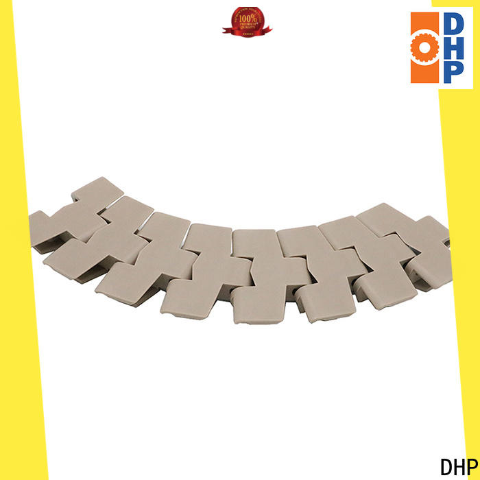 DHP straight running plastic conveyor chain manufacturers factory for conveyor machinery