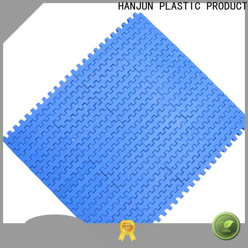 practical plastic conveyor belt pom material customized for food conveyor