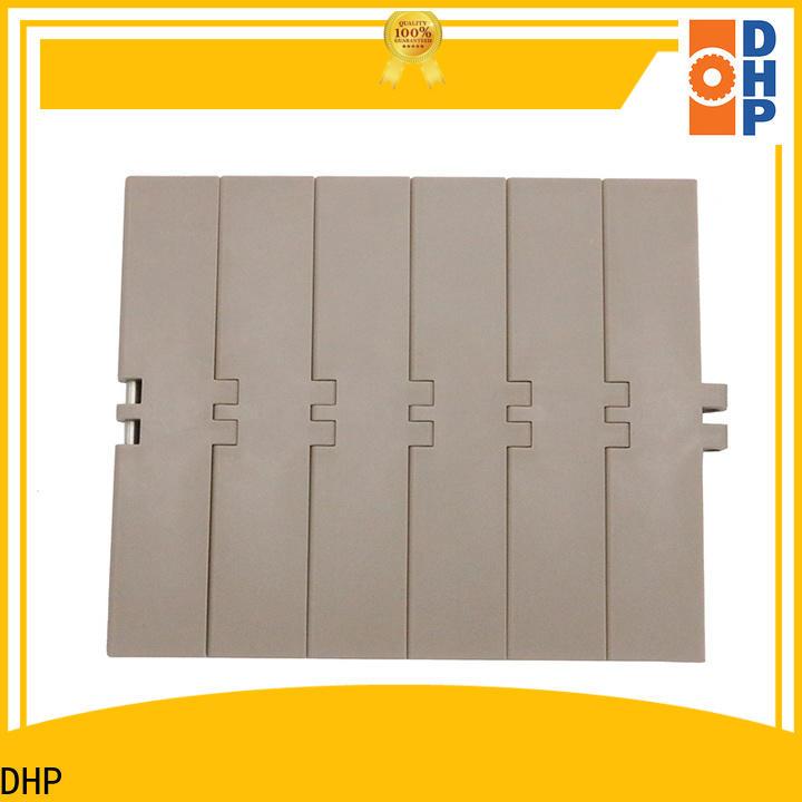 DHP flexible plastic conveyor chain manufacturer for conveyor machinery