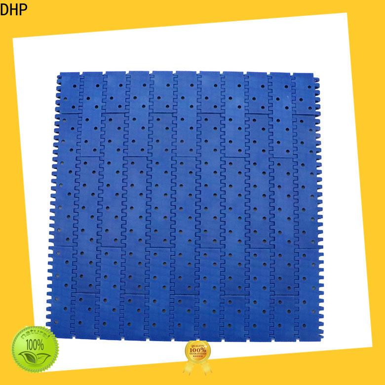 DHP pom material conveyor belt types manufacturer for conveyor machinery