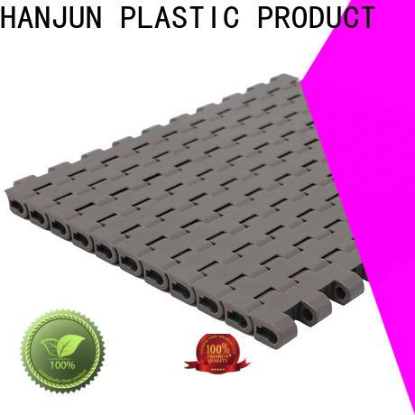 durable plastic conveyor belt flat top manufacturer for food conveyor