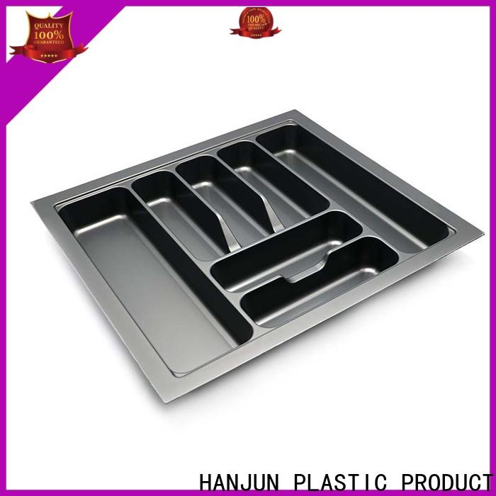 durable silverware drawer organizer smooth surface design for cabinets