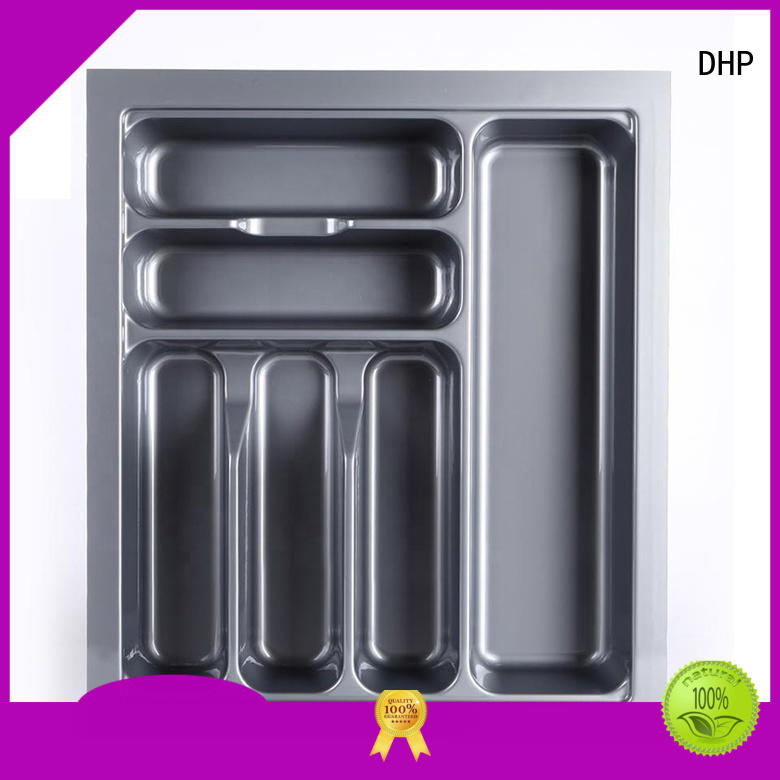 DHP practical plastic cutlery tray wholesale for tableware