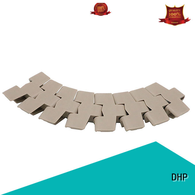 DHP modular plastic conveyor chain manufacturers series for boxes conveyor