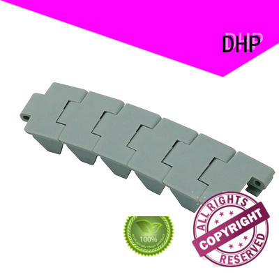 flexible plastic conveyor chain stainless steel series for boxes conveyor