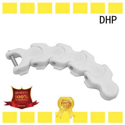 DHP straight running conveyor chain suppliers wholesale for food conveyor