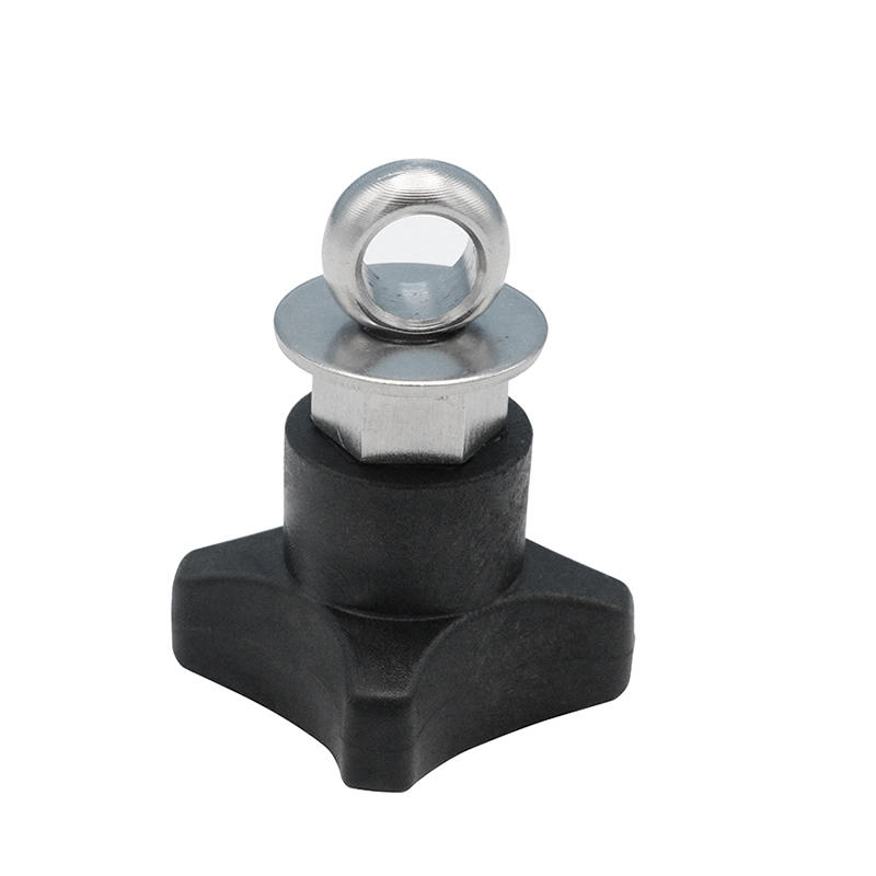 High quality Customized Plastic ABS Tightening Knob with eyebolt  H183-10