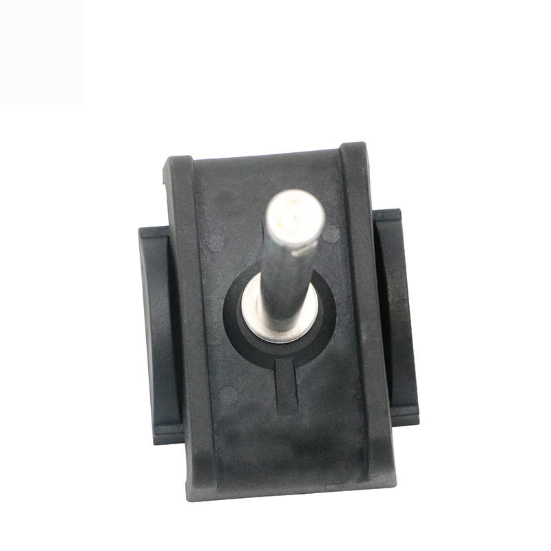 Double Round Adjustable Black Nylon Guide Rail Clamps H71-2