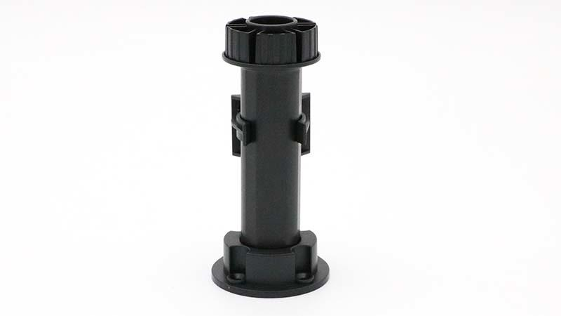 smooth plastic furniture legs abs material for cabinets DHP