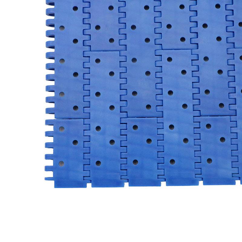 2 Perforated Flat Top Round Holes Modular Conveyor Belt H9002 (Open area:4.5%)