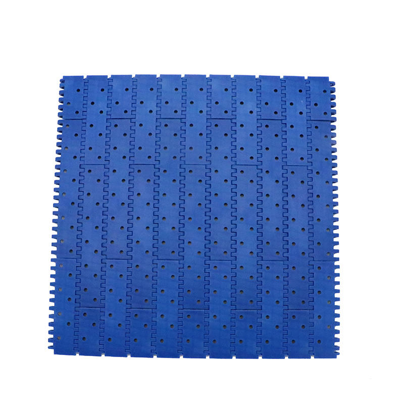 2 Perforated Flat Top Round Holes Modular Conveyor Belt H9002 (Open area:4.5%)