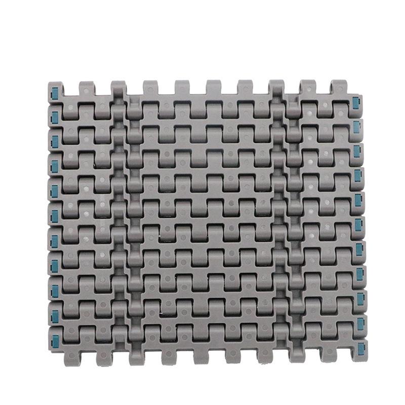 Made in China  straight run plastic modular belt conveyor H607