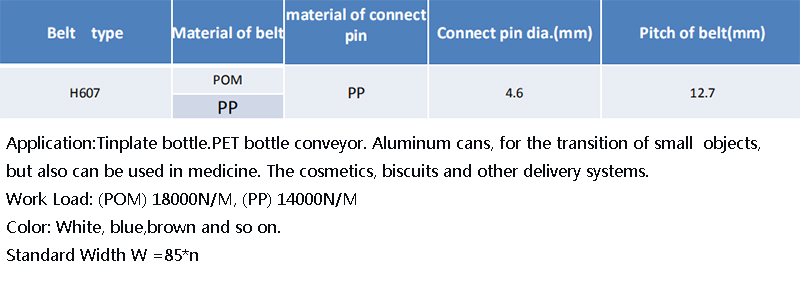 DHP pom material plastic conveyor belt manufacturer for conveyor machinery-4