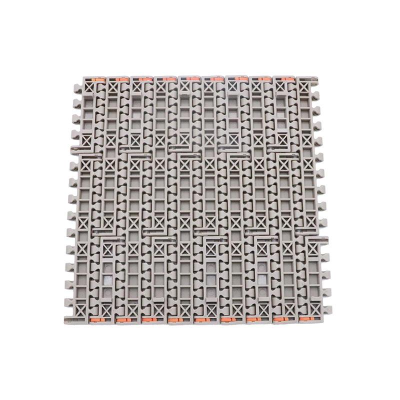 Straight Run Plastic Food Grade Modular Conveyor Belt H1600