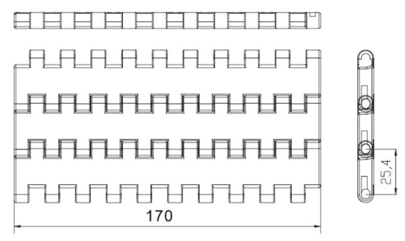 DHP flat top conveyor belt types manufacturer for conveyor machinery-3